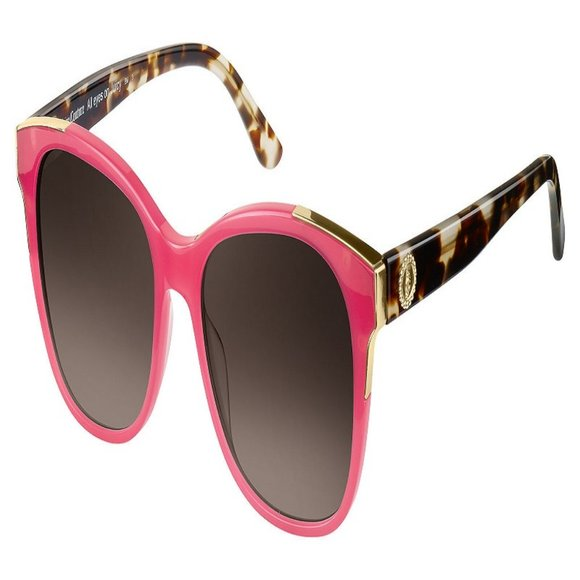 Juicy Couture Square Women Coral Acetate Frame